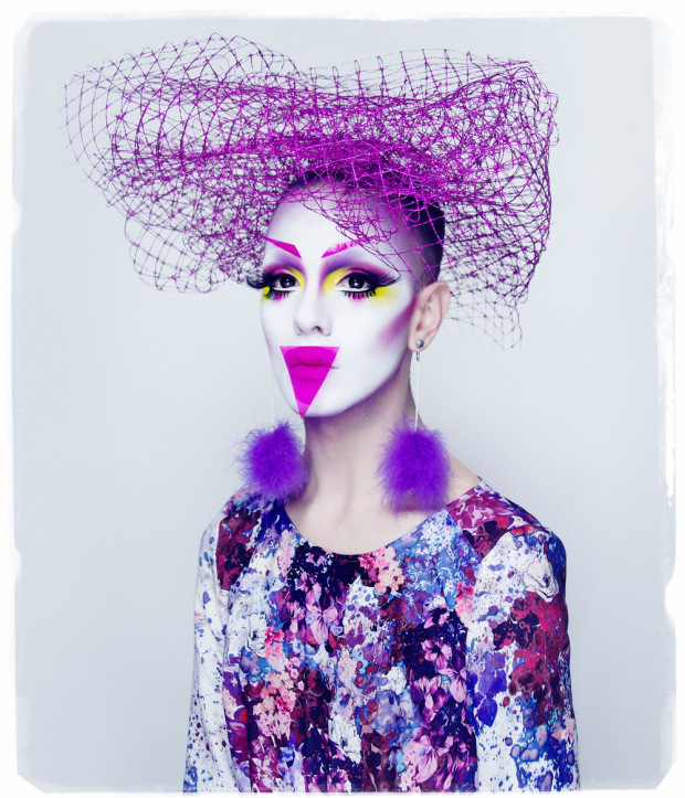 Ryan Burke drag makeup fashion photography