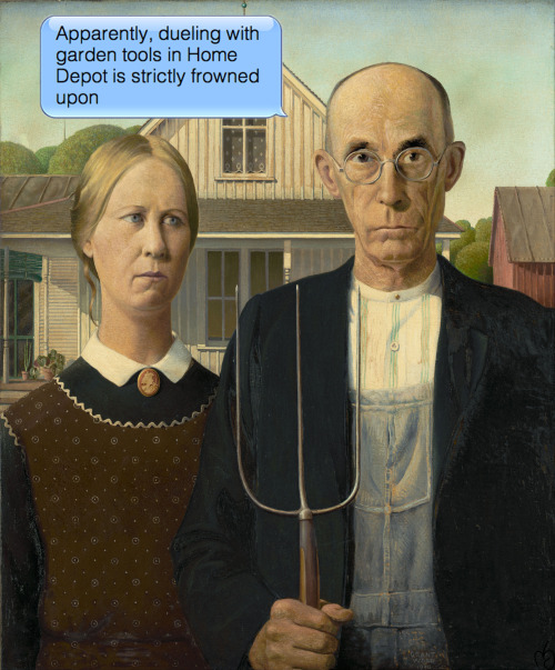 Grant Wood | American Gothic | 1930