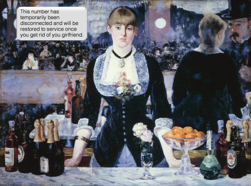 Édouard Manet | A Bar at the Folies-Bergère | 1882