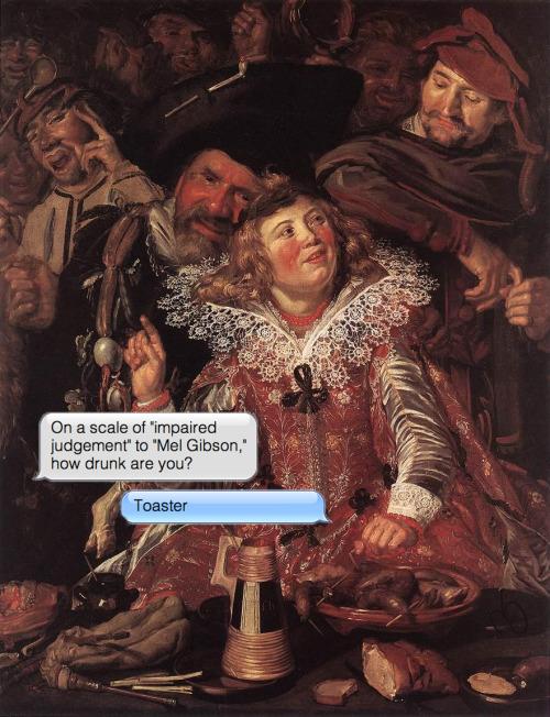 Frans Hals | Shrovetide Revellers | c.1615