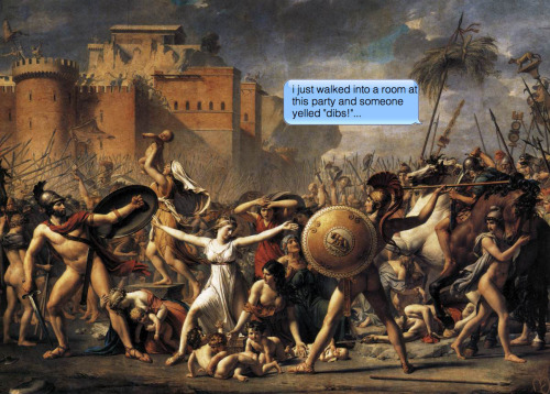 Jacques-Louis David | The Intervention of the Sabine Women | 1799