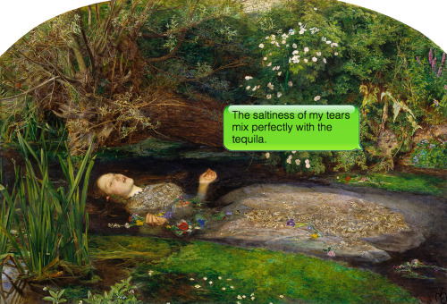 John Everett Millais | Ophelia | 1852