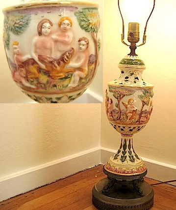 When it comes to lamps (and most other things), cherubs are almost always a bad idea. Sold by Bleuets