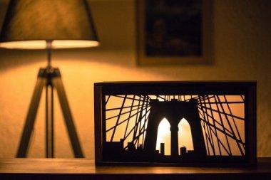 Highly desirable Brooklyn Bridge nightlight. Must have! By IoannisKatsanos