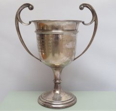 1922 Sterling Bowling Trophy