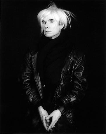 Andy Warhol 1986 © Robert Mapplethorpe Foundation