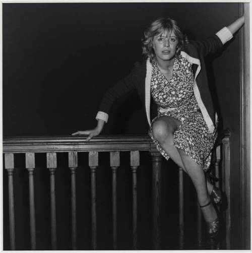 Marianne Faithfull 1976, printed 2003 Robert Mapplethorpe 1946-1989 ARTIST ROOMS  Acquired jointly with the National Galleries of Scotland through The d'Offay Donation with assistance from the National Heritage Memorial Fund and the Art Fund 2008 http://www.tate.org.uk/art/work/AR00204