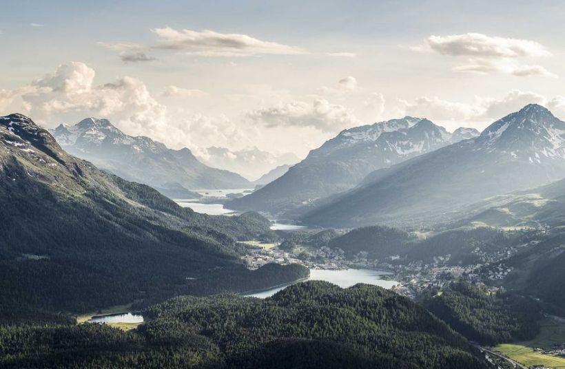 Engadin St. Moritz Mountains. Photo property of www.graubuenden.ch