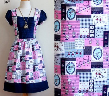 The perfect bridesmaid's dress if 1. your bridesmaid is 6 and 2. your wedding is taking place in the fifties. By SnowOutlet