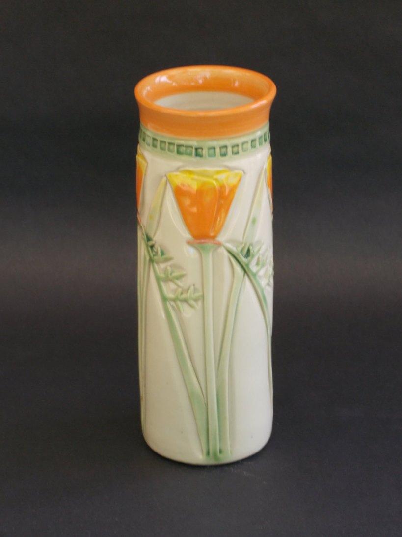 California Poppy Vase