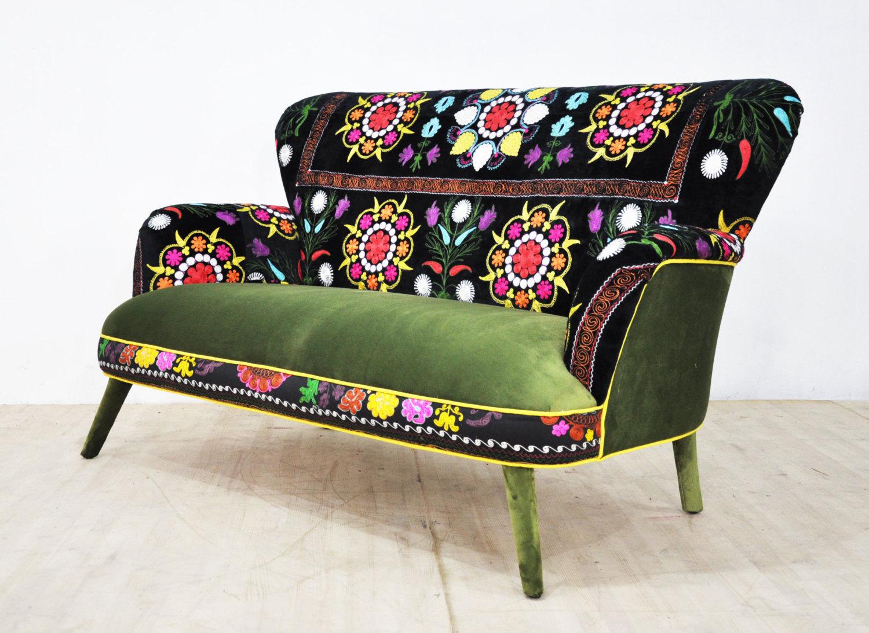 Suzani 2-seater sofa by NameDesignStudio