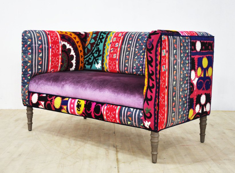 Loveseat - rainbow