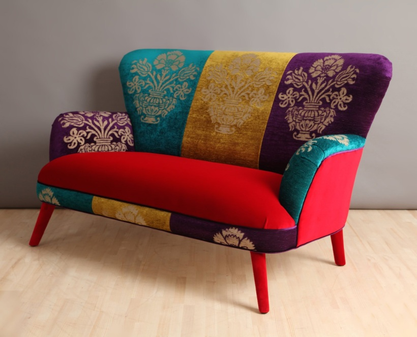 Colorful Gobelin Sofa