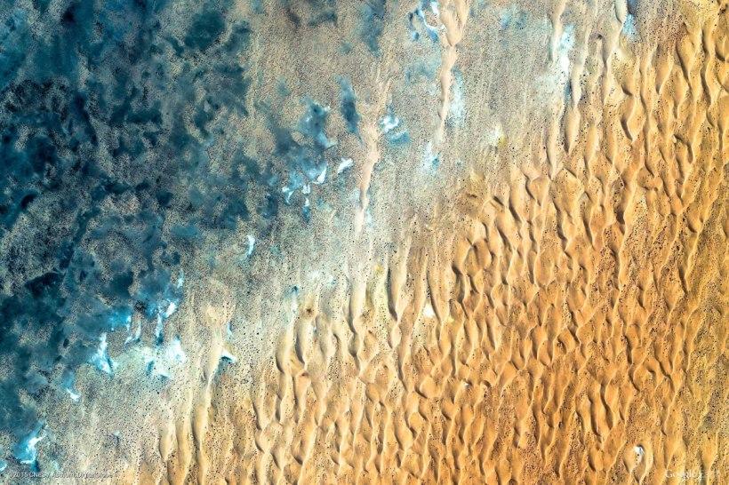Akjoujt, Mauritania (via Google Earth View)