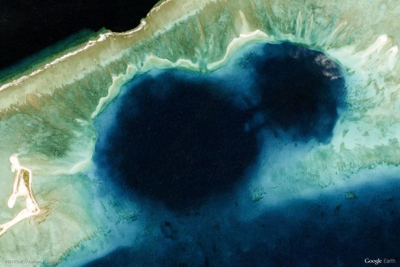 Enewetak Atoll, Marshall Islands (via Google Earth View)
