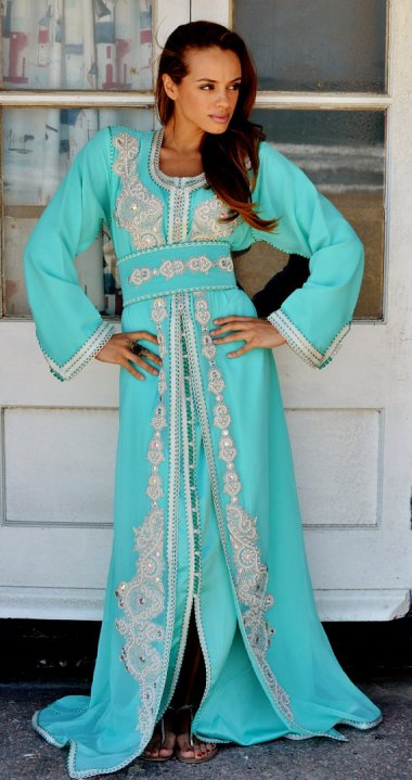 Absolutely epic Moroccan kaftan. By MaisonMarrakech