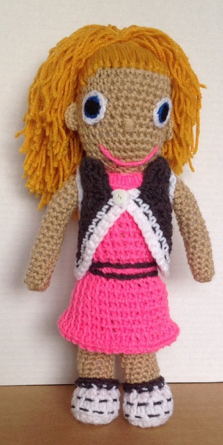 Back-to-school doll with