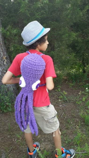 Itchy-looking octopus backpack by CreepyLand. Look, I get it. They ruined your figure and your social life. But there are healthier ways to get back at your children.