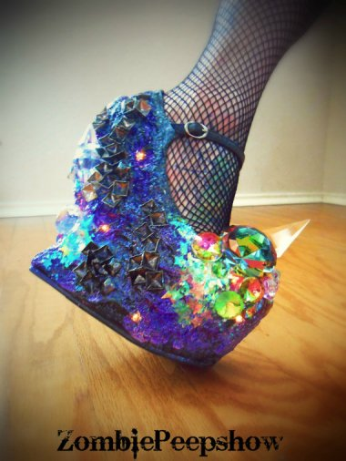Back-to-school shoes from the Lady Gaga collection. By Kaylastojek