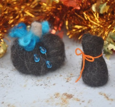 Q: Why do you have two cat turds on your mantle? A: Etsy.221BFelterStreet