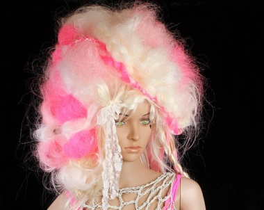 Marie Antoinette Walk of Shame wig. By CrudeThings