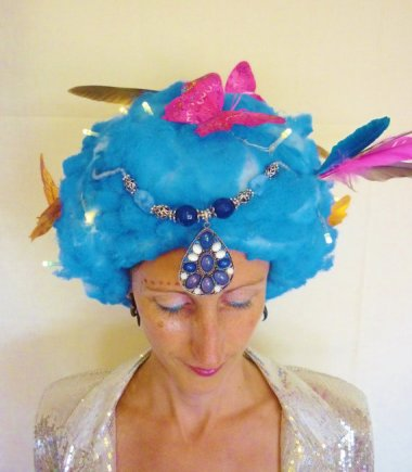 Nope. Don't want this one either. Turns out there's something of a gap in the light-up-wig market! By DressYourHedonism