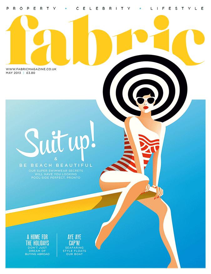 Malika Favre for Fabric Magazine