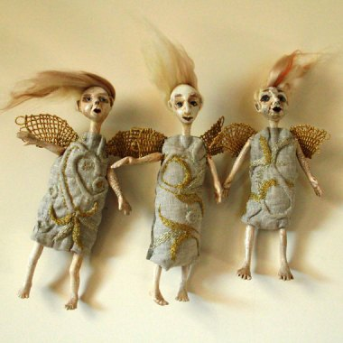 Love angels? Well, this ought to cure that. By DovileDolldeco