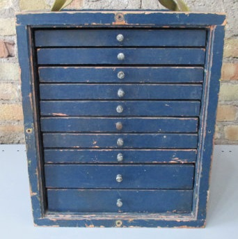 Vintage machinist's cabinet by ReclaimedOriginal