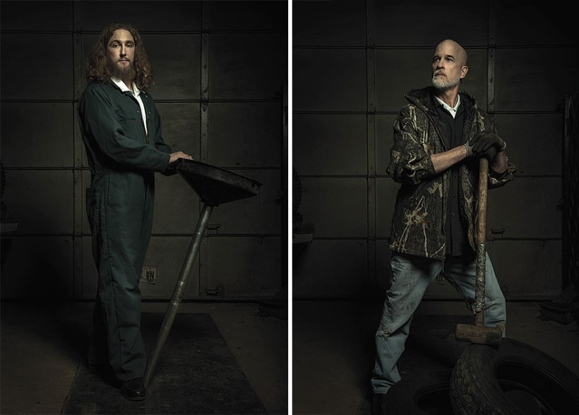 Rembrandt-inspired portraits Photo by Freddy Fabris