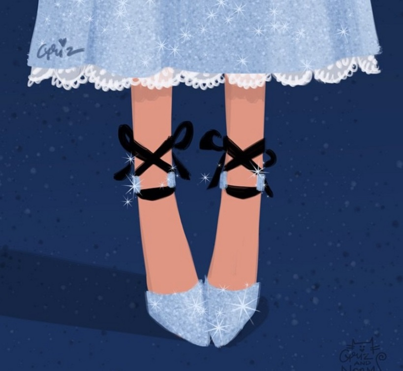 Wendy Darling in Jimmy Choo Rosana pumps