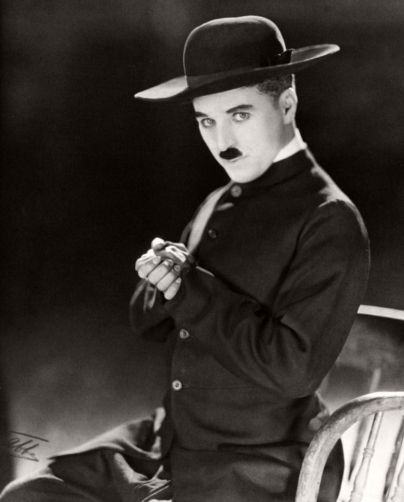 Charlie Chaplin by James Abbe