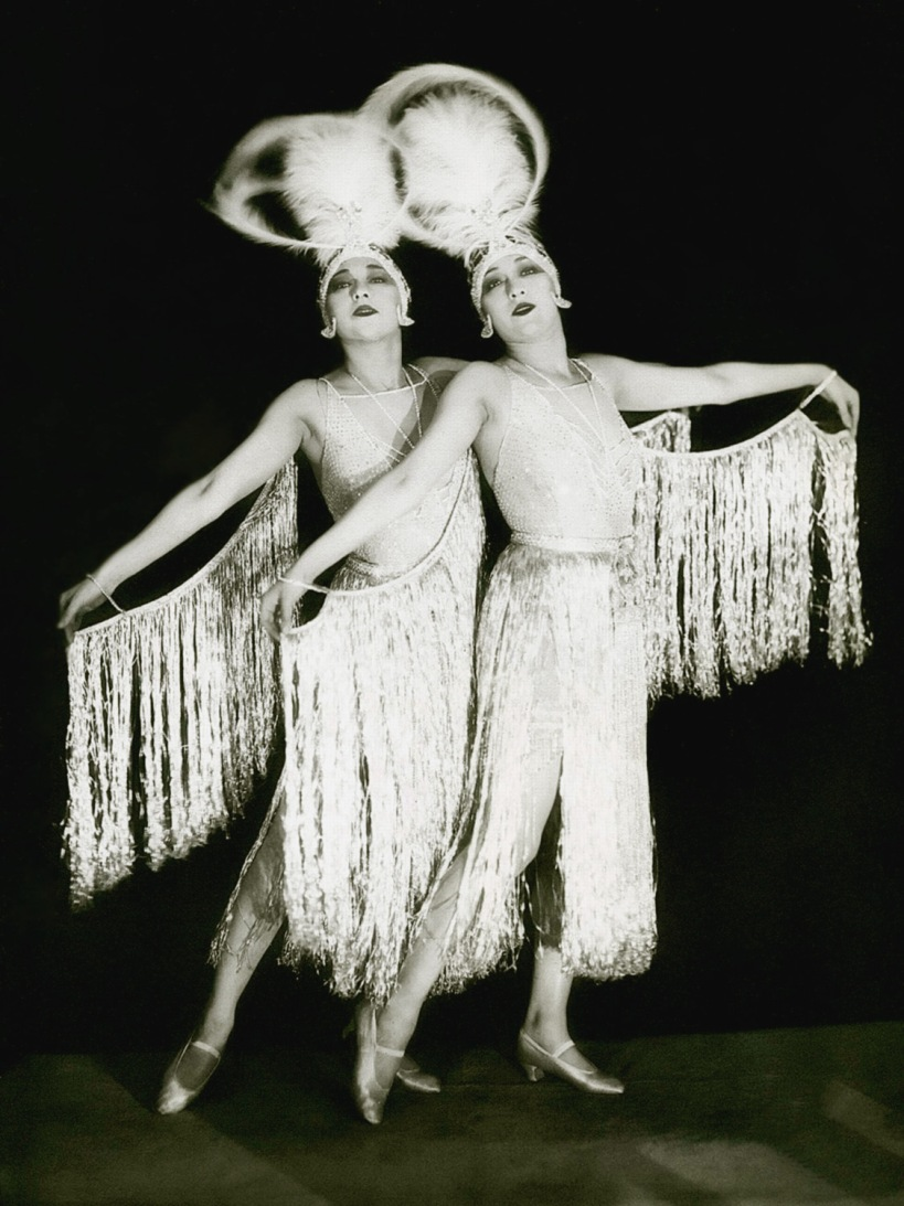 The Dolly Sisters by James Abbe