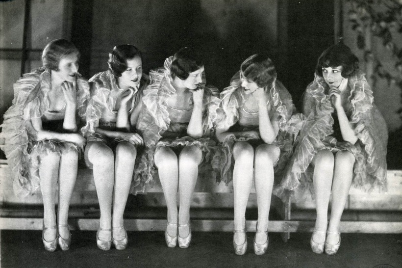 Chorus Girls by James Abbe
