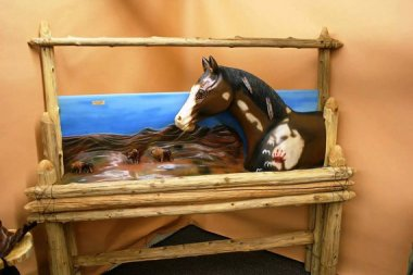 The horse people are to beds what the cat people are to everything else. By CowgirlandCountry