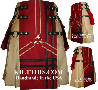 This is a sport kilt, and it's actually pretty badass! By KiltThis