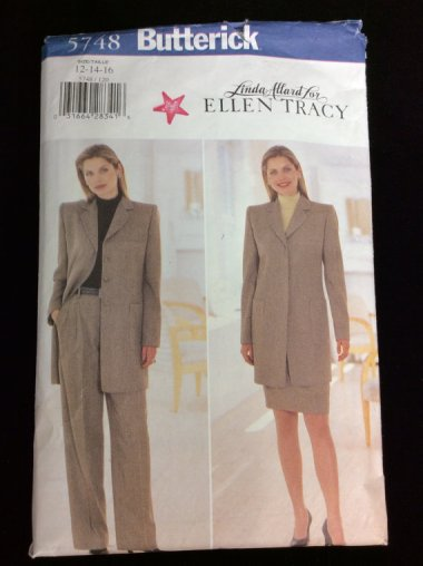"""This vintage Butterick pattern is listed as """"activewear."""" Maybe if the activity is sitting. By LehightonGold"""