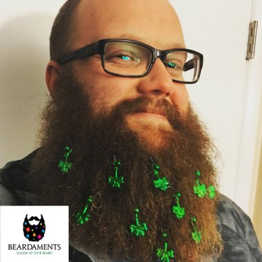 Beard embellishments. I thought that's what crumbs were for? By Beardaments