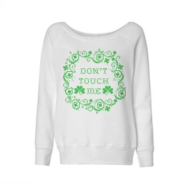 "This is a refreshing alternative to the endless ""Kiss Me, I'm Irish"" wear. By TeesAndTankYouShop"