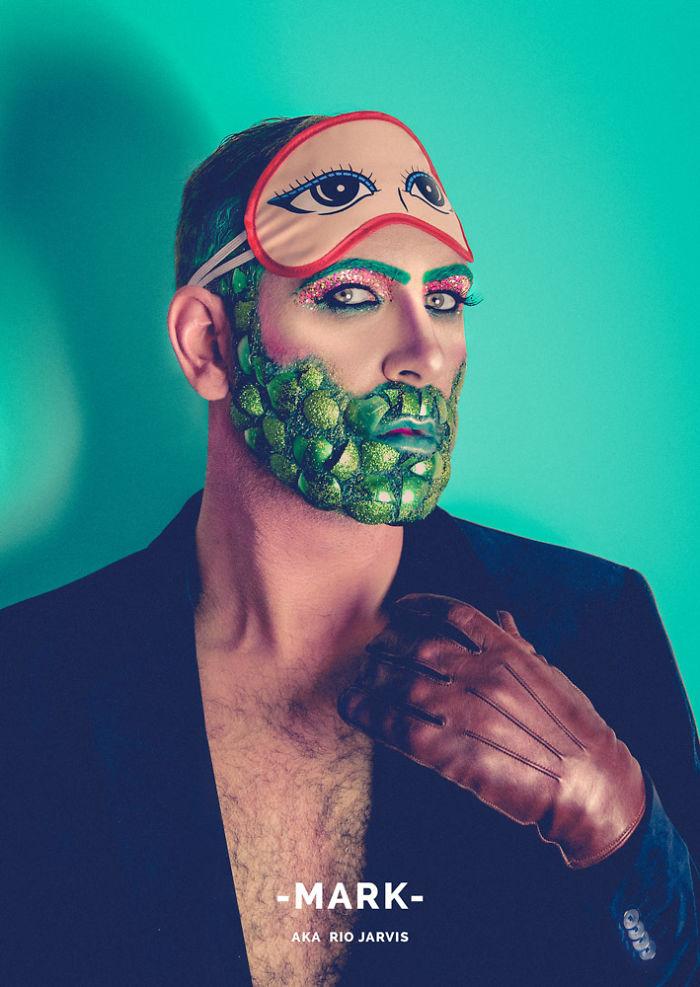 Mark Leeming (self portrait)