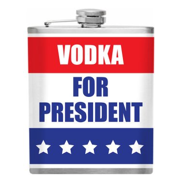 Now there's a candidate I can get into (literally)! By Funnyflasks