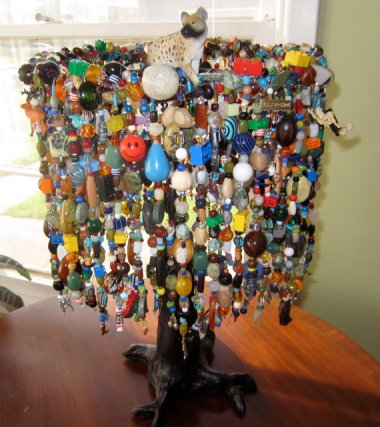 Custom-made nursery lamp featuring your choice of choking hazards! By Katherynghill