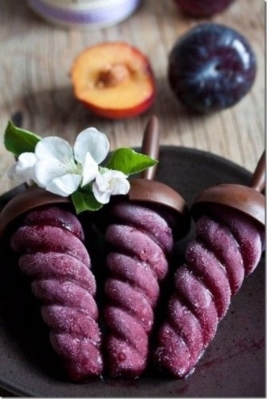 Plum Sorbet and Red Wine by All Women's Talk