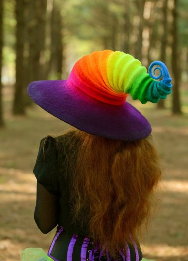 I have a lot of fun at the expense of the felters, but if I could think of a justification for buying this perfect hat, it would be mine! By HandiCraftKate