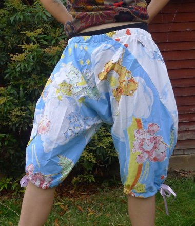 "Care Bear ""festival"" shorts. What the hell goes on at these festivals?"