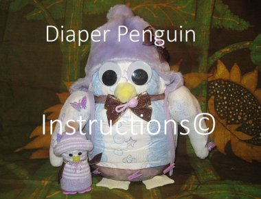 I don't know anyone who needs a diaper penguin cake topper, but on the bright side, Diaper Penguin would be a great band name!