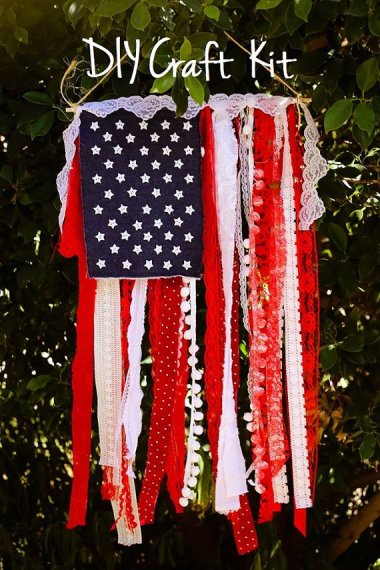 """At least if you make this """"shabby chic"""" flag, you have no one to blame but yourself."""