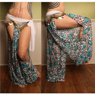 There's so much fabric missing from these pants, their only purpose is to confuse you when you go to the bathroom.