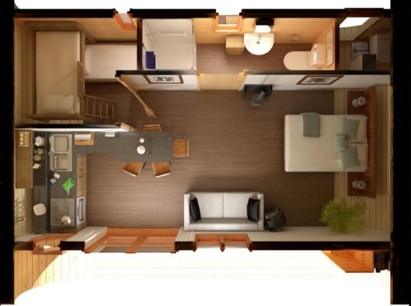 Eco Perch Floor Plan