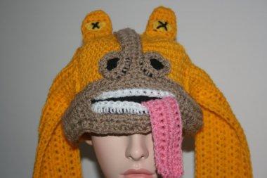 JarJar Binks even makes a stupid hat.